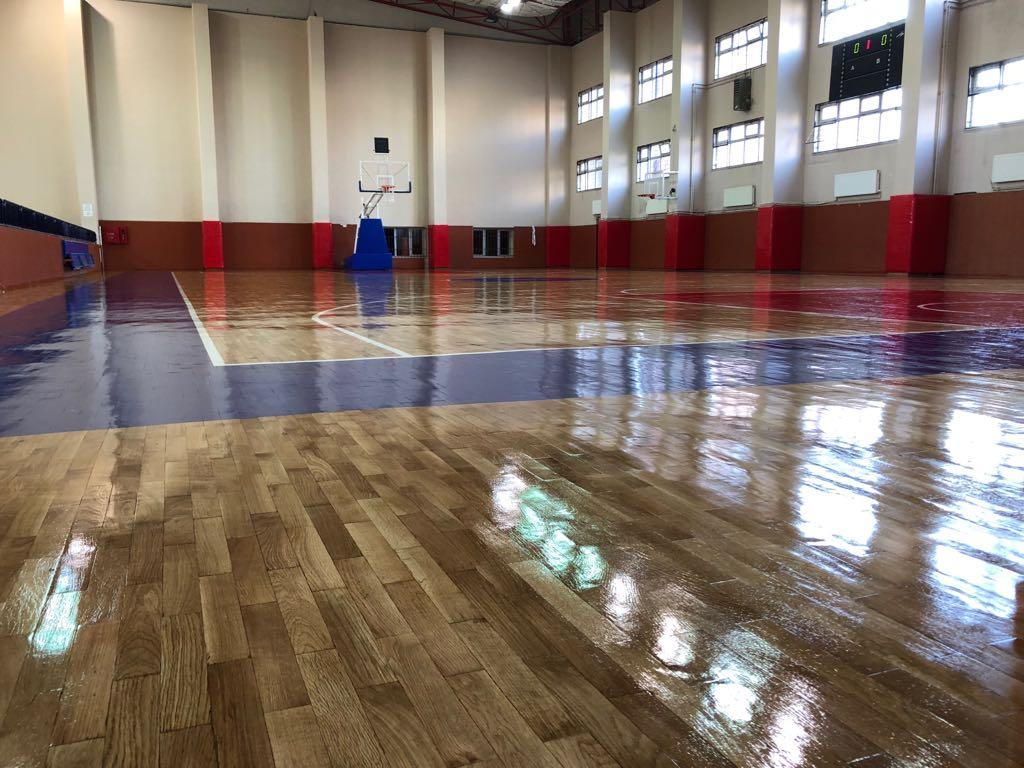 Yeni Sezonda Yenilenen Basketbol Spor Salonumuz